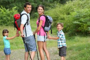 Wandern im Erzgebirge